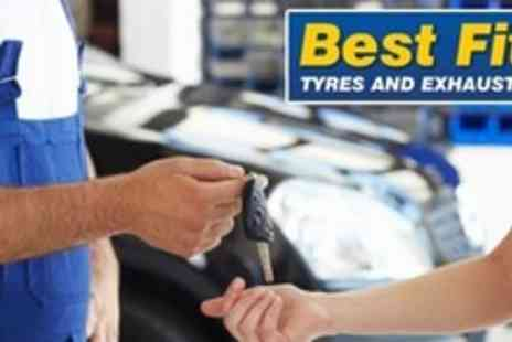 Bestfit Garage - MOT Test with Exterior Valet - Save 58%