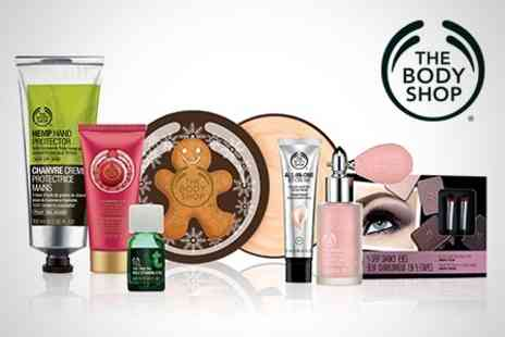 The Body Shop - Voucher to Spend in Store Plus Free Loyalty Card - Save 50%