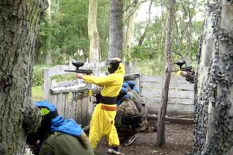 Ontarget Paintball -  Full Day With Lunch For Five or Ten - Save 87%