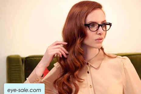 Eyewear Solutions - Pair of Designer Glasses with Prescription Lenses - Save 83%