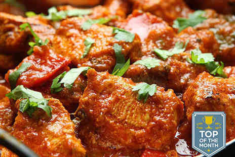 Mumbai Mansion - Starter Main Course and Rice Dish or Naan Bread Each for Two - Save 70%