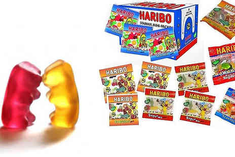 Star Home Buys - Haribo Treat your kids to the much loved gummy sweets with 100 mini bags - Save 33%