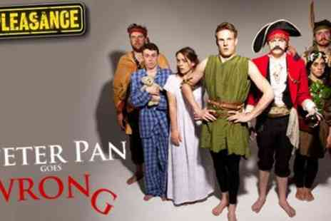 Pleasance Theatre - Panto with added hilarity Peter Pan Goes Wrong from Award winning Comedy Company - Save 50%
