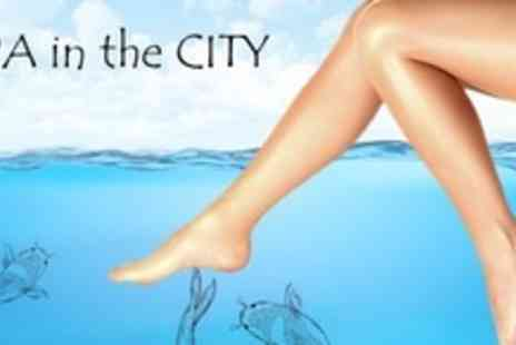 Spa in the City - Fish Foot Spa Session - Save 60%