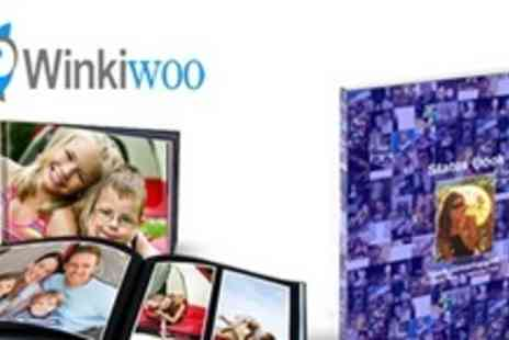 Winkiwoo - A5 Personalised Facebook Photo Book Using Your or Your Friends Photos - Save 77%