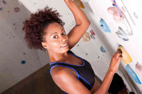 The Climbing Hangar - Full day of climbing for 2 including annual membership - Save 67%