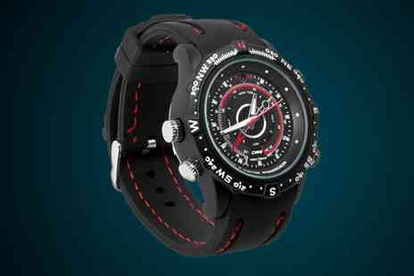 Tanning & Beauty World - 4GB Spy Watch With Built in Camera - Save 50%