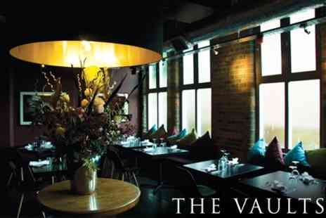 The Vaults - Six Course Gourmet Dinner For Two for £26 - Save 71%