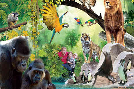 Chessington World of Adventures Resort - One night stay for a family of 4 including zoo & Sea Life Centre entry  - Save 37%