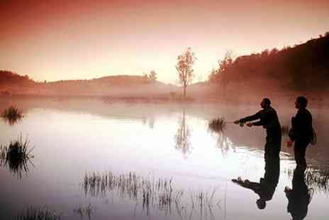 Lawfield Trout Fishery - Fly Fishing Day With Pie - Save 50%