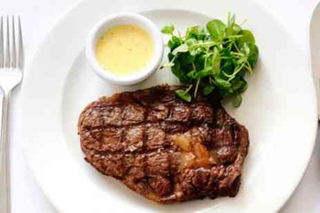 Kings Road Steakhouse & Grill - Steak Dinner with Cocktail in Chelsea - Save 48%