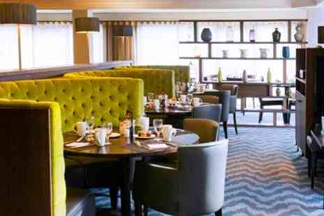Brunels Hat at Hilton Bristol - Two Course Dinner & Wine for Two - Save 53%