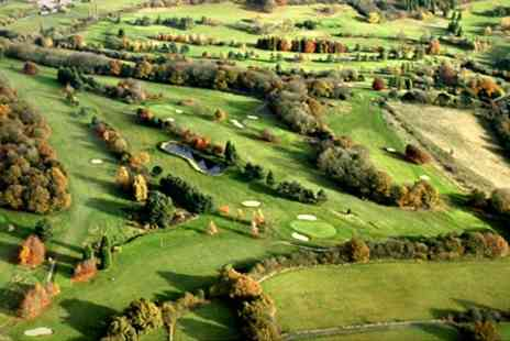 Woodlands Manor Golf Club - 18 Holes of Golf With Coffee For Two - Save 48%