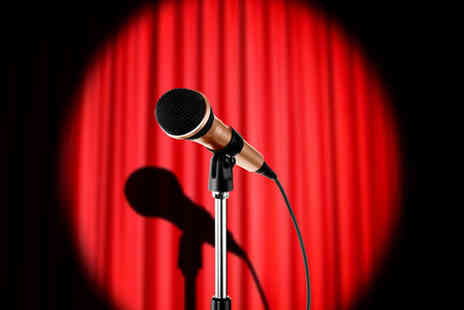 Native Tongue - Two tickets to a live comedy & music show including two course buffet meal & a glass of bubbly  - Save 50%