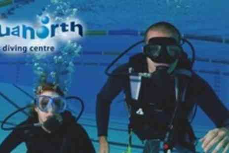 Aquanorth - PADI Referral Open Water Scuba Diving Course - Save 65%