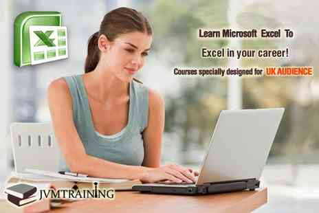 JVM Training - Online beginners course for Microsoft Excel - Save 85%