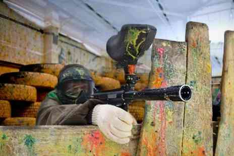 Urban Paintball Edinburgh - Two Hours Of Indoor Paintballing For Four - Save 94%