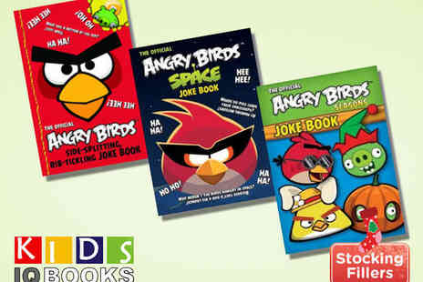 Kids IQBooks - Three Book Angry Birds Joke Book Collection - Save 67%