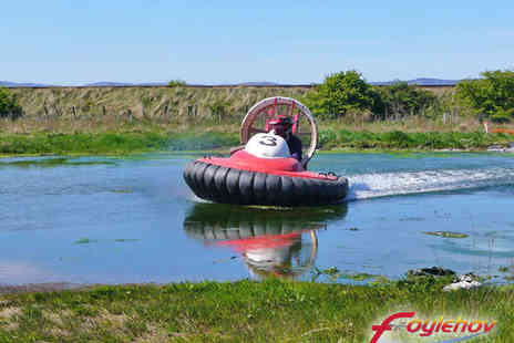 Foylehov - 30 Minute Hovercraft Experience for One People - Save 55%