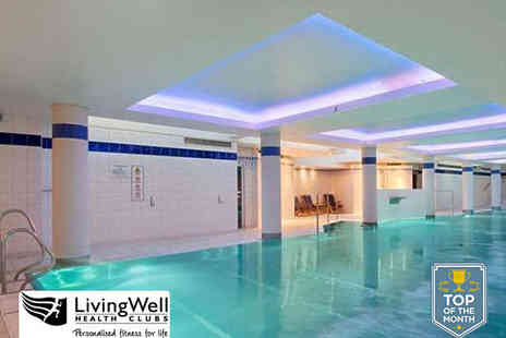 LivingWell Hilton Hotel - Day Leisure Pass to Hilton Health and Fitness Suite for Two - Save 58%