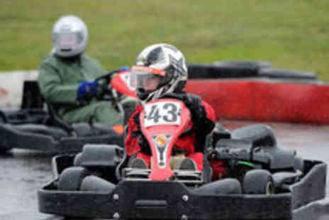 LetsGoActive - Go Karting Experience for One - Save 52%