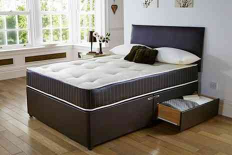 Textiles Direct - Divan Bed and Memory Foam Mattress - Save 56%