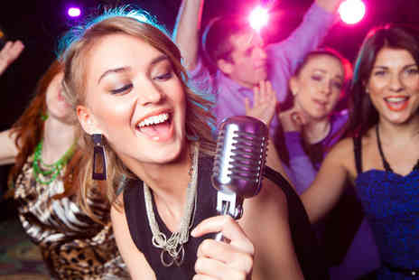 OK Karaoke - Two hour private karaoke booth hire for up to 10 people & a shooter - Save 86%