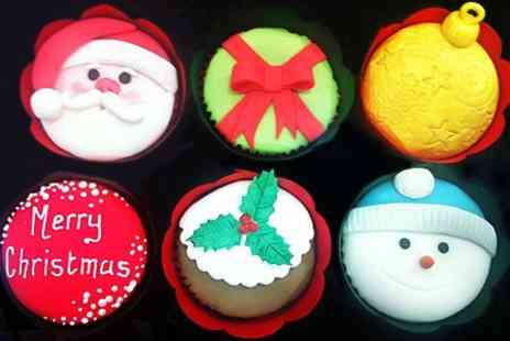 Sweet Serenity - Christmas Cupcake Decorating Class For One - Save 46%