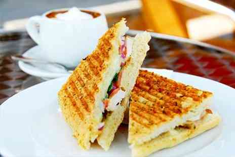 Number 29 Deli and Cafe - Panini Hot Drink and Slice of Cake - Save 54%