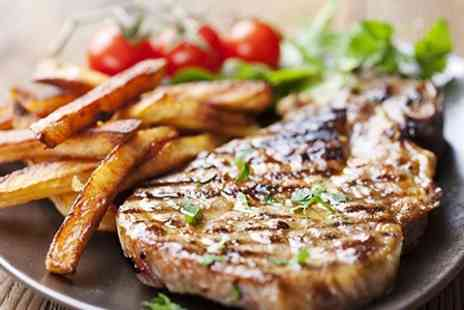 Smart and Simple Hotel - Steak Dinner For Two - Save 24%