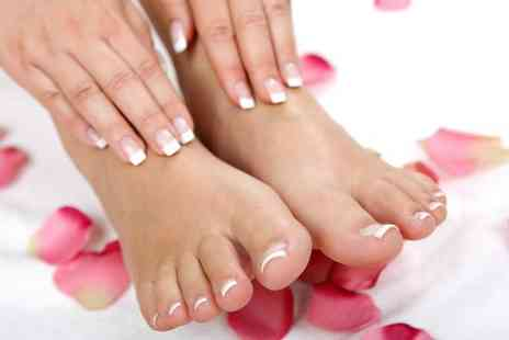 The Spa Room - Gelish manicure and pedicure - Save 88%