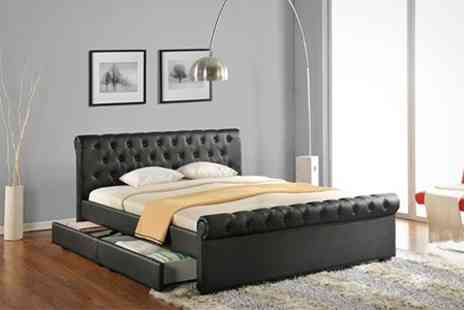 Sleep Design - Naples Storage Bed Plus Mattress - Save 32%