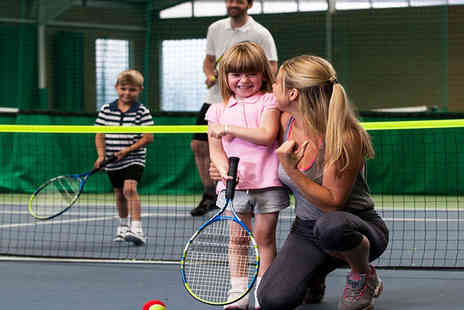 Community Indoor Tennis Centres - Indoor Tennis Coaching with a Qualified Professional and an Additional One Hour Court Hire - Save 72%