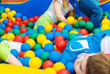 Iplay Soft Play - Soft Play Party for up to Ten Children with Hot Buffet and Drinks - Save 53%