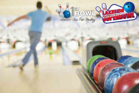 White Pin - First Bowl Preston Two games of bowling and hot dogs for two people - Save 62%