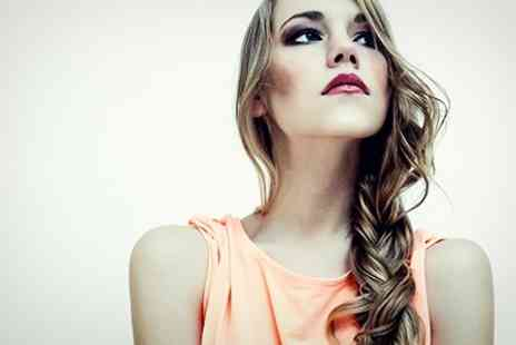 DK Hair - Cut and Blow Dry With Full or Half Head Colour - Save 49%