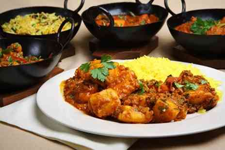 The Spice Quarter - Indian Meal With Sides and Wine For Two - Save 62%