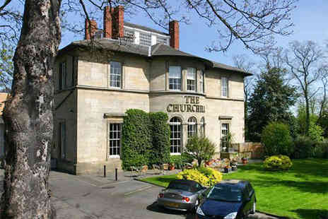 The Churchill - Stylish Break in a Contemporary Georgian Mansion - Save 53%