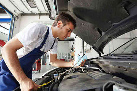 North East Garages - 54 Point Check Car Service with Mini Valet and Oil and Filter Change - Save 56%
