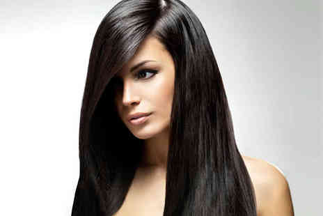 Pinkk Hair Design - Re Style Haircut and Keratin Blow Dry - Save 53%