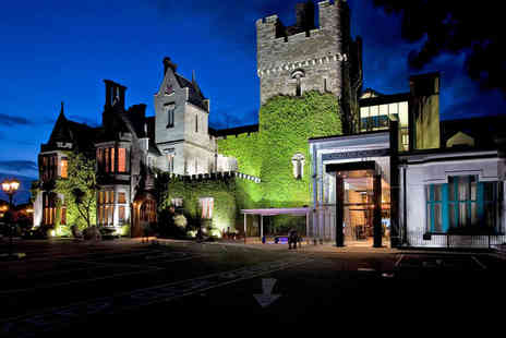 Clontarf Castle - One Night Stay for Two People with Daily Breakfast Welcome Drink Each - Save 49%