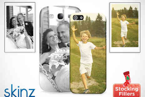 Skinz - Personalised Hard Cover for iPhone 4 4S/ 5 or Samsung Galaxy S3 - Save 60%