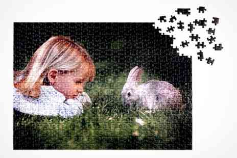 Jessops Photo - Jessops Personalised Jigsaw Puzzle in Choice of Size - Save 56%