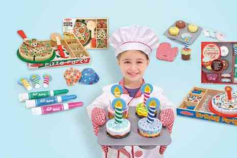 Kids Playstore - Melissa & Doug wooden party food play set - Save 57%