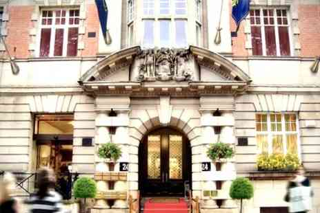 The Richmond Hotel - In Liverpool One Night Stay For Two With Dinner and Wine - Save 39%