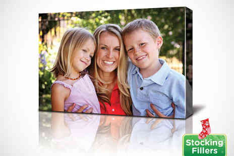 Photo Deals UK - 20x30 cm Personalised Canvas Print - Save 90%