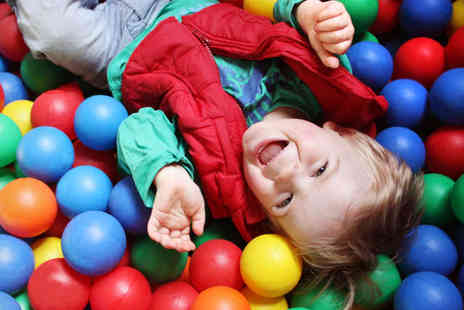 The Play Shack - Two Visits for One Adult and Three Children to Soft Play Area with an Iced Drink Each - Save 82%