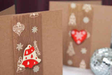 Miss Molly - Set of 10 Handmade Christmas Cards - Save 63%
