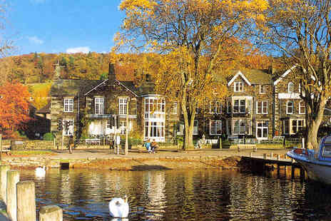 Waterhead Hotel - Two Night Stay for Two People with Daily Full English Breakfast - Save 44%