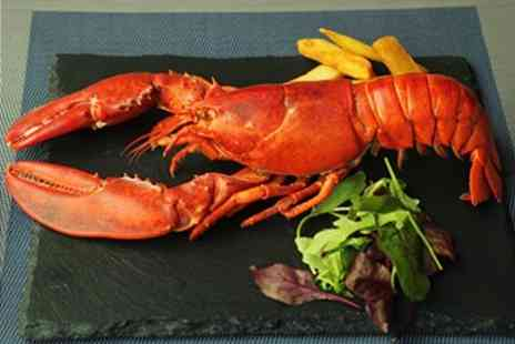 The Lavender Room  - Seafood Tasting Menu With Whole Lobster and Wine For Two - Save 50%